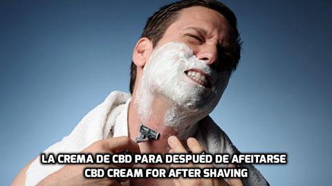 Lee más sobre el artículo La Crema de CBD para después de Afeitarse